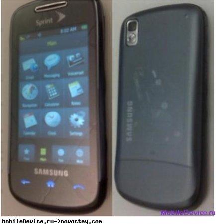 Samsung Instinct Mini сфотографирован