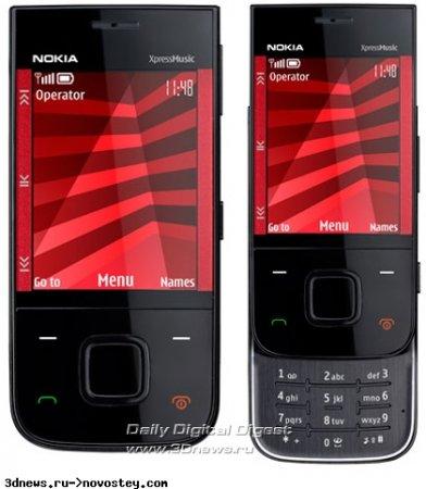 Премьера музыкального слайдера Nokia 5330 XpressMusic