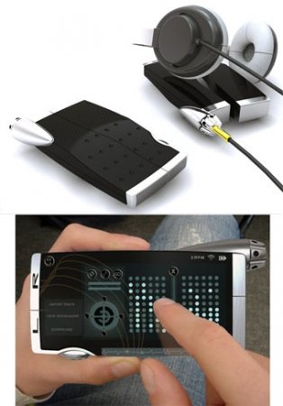 Концепт музыкального телефона Motorola KRE-8