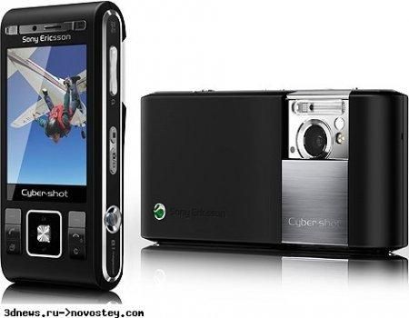Sony Ericsson делает упор на камерофоны в 2009 году