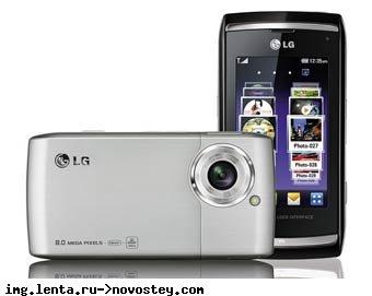 LG выпустит 12-мегапиксельный камерофон до конца года