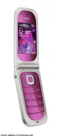 """Nokia 7020 - модная """"раскладушка"""" в трех вариантах цвета"""