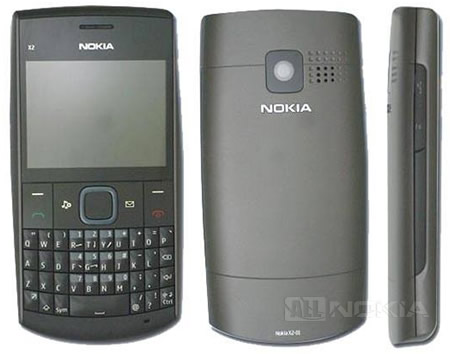 Nokia X2-01 - бюджетная QWERTY-новинка на S40