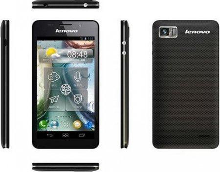 Lenovo представила музыкальный 4-ядерный смартфон K860 для Китая