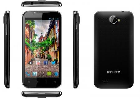 Highscreen Blast: 4,5-дюймовый Android-фон на двухъядерном чипе Qualcomm