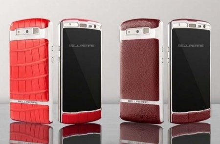 Компания Bellperre представила свои топовые телефоны.