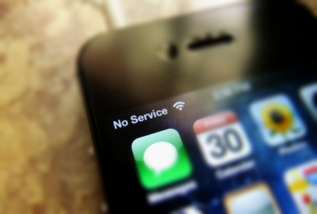 Как узнать точный уровень сигнала сотовой сети на iPhone без джейлбрейка