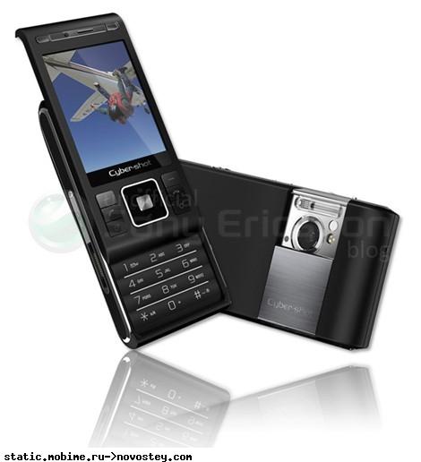 Sony Ericsson выпускает телефон с 8,1-мегапиксельной камерой