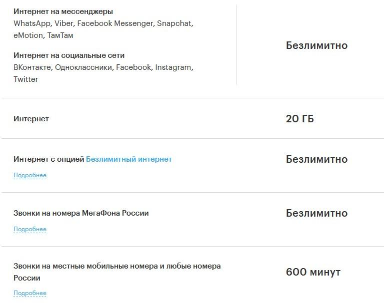 Таблица лучших тарифов сотовой связи в России: новинки 2019