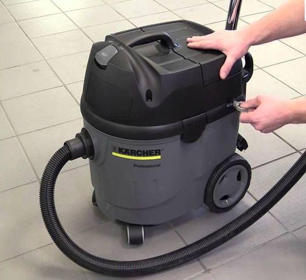 Промышленный пылесос Karcher: назначение и аренда техники