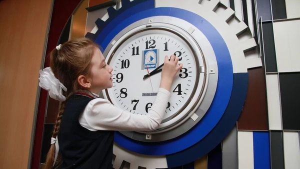 Планируемый перевод времени в РФ в 2021 году