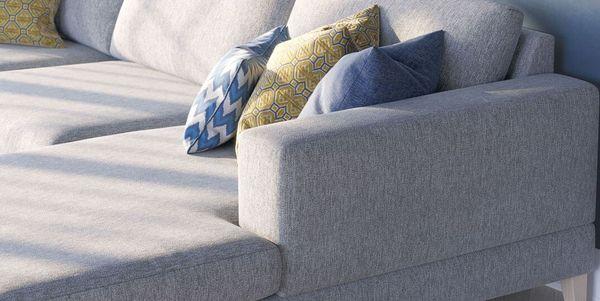 Акриловые ткани в мебели для улиц