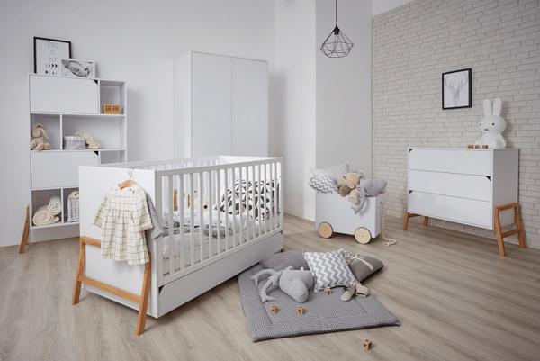Детские кроватки: размеры, модели, варианты размещения в интерьере