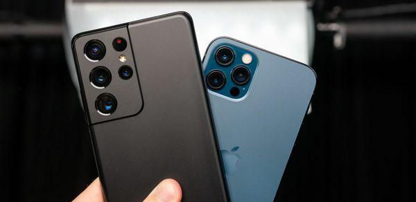 Samsung Galaxy S21 Ultra против iPhone 12 Pro Max